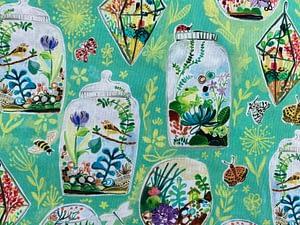 Terrarium patterned fabric