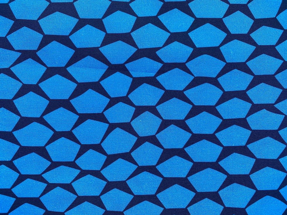 Pentagons in Blue