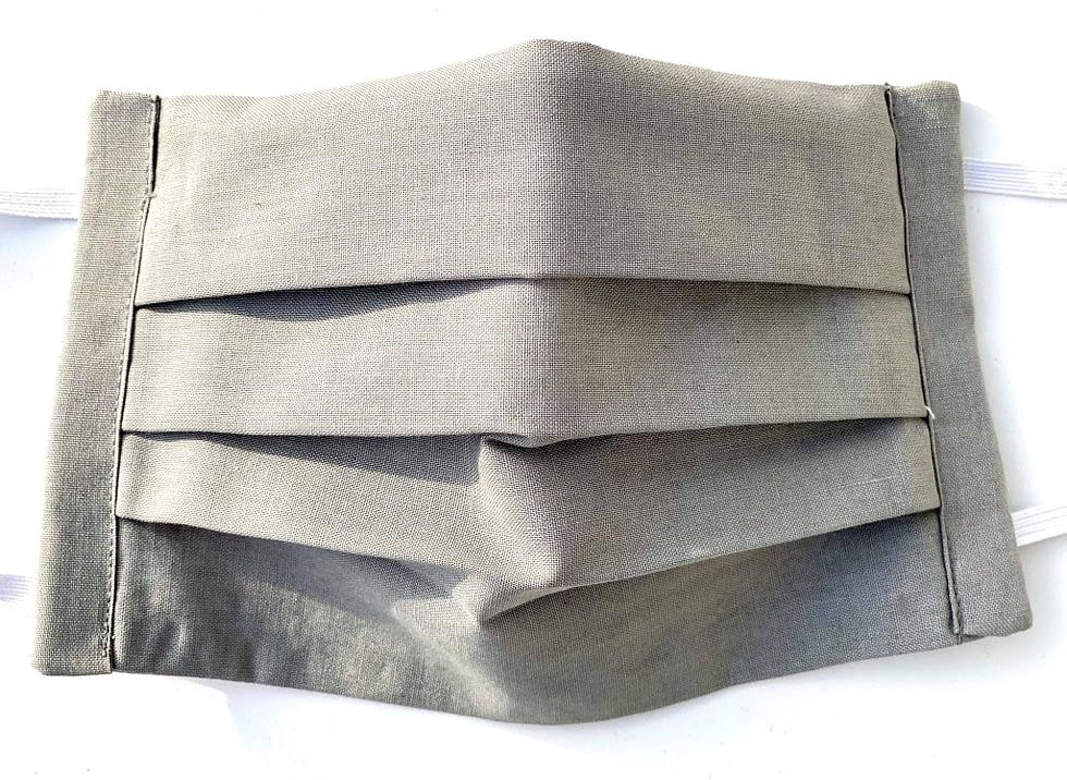 Grey Mask Closeup