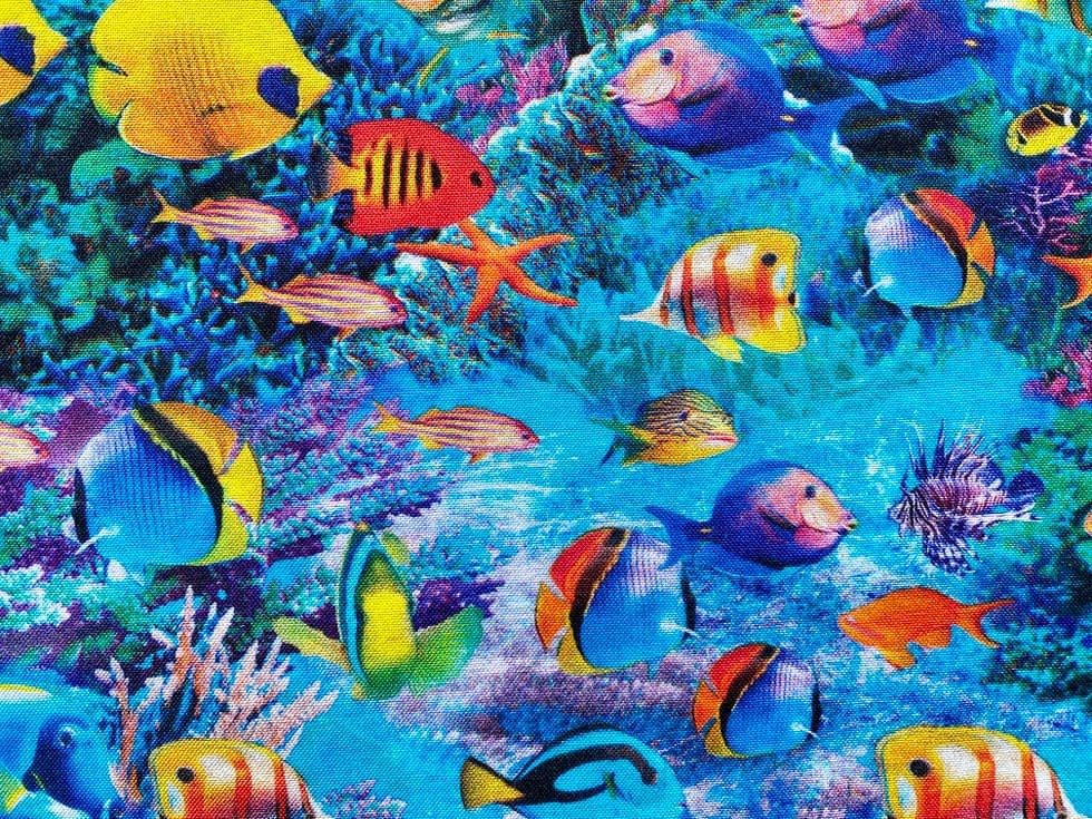 Tropical Fish Fabric