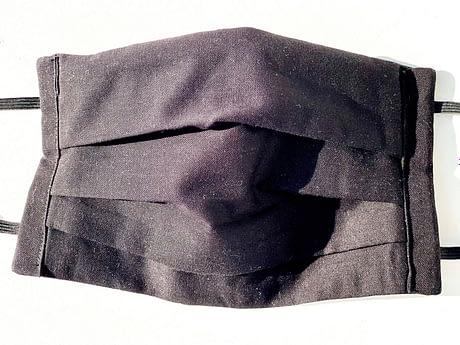 Black Mask Closeup