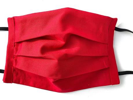Red Mask Closeup