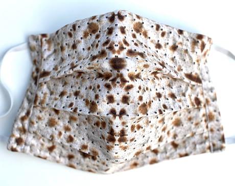Matza Mask Closeup