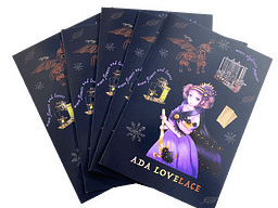 Ada Lovelace Cards Pack of 5