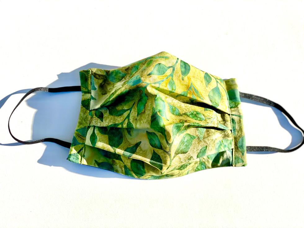 Batik Leaves Mask