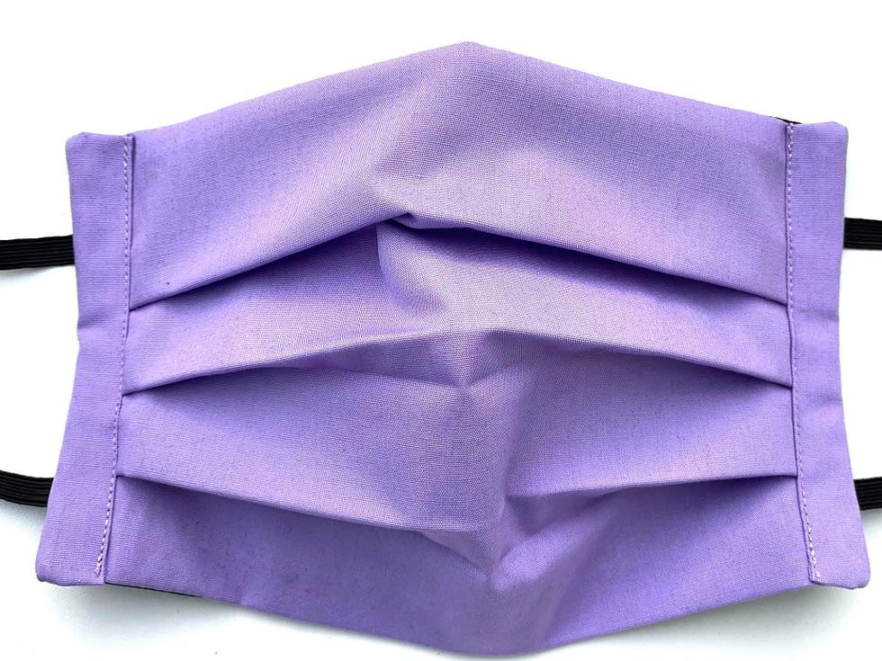 Lavender Mask Closeup